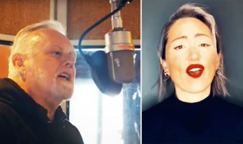 Roger Taylor, Queen's drummer, releases a new song with KT Tunstall in advance of his solo album. WATCH
