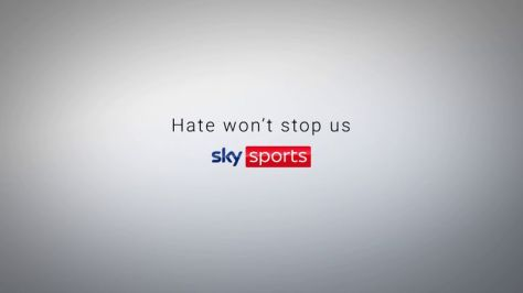 This is the message from Sky Sports presenters and reporters, who have united in supporting a new campaign aimed at raising awareness of online hate and abuse on social media