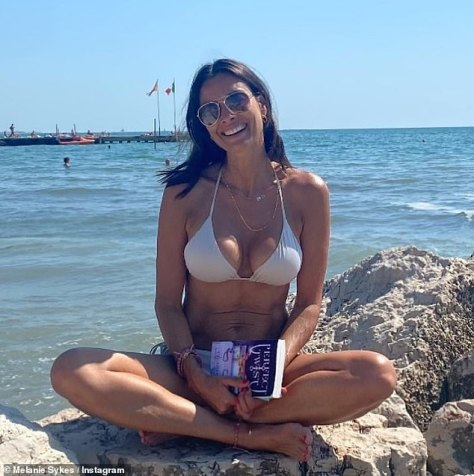 'You have my heart': Melanie Sykes, 51, shared snaps to social media on Friday as she reunited with her toyboy Riccardo Simionato, 24, in Venice