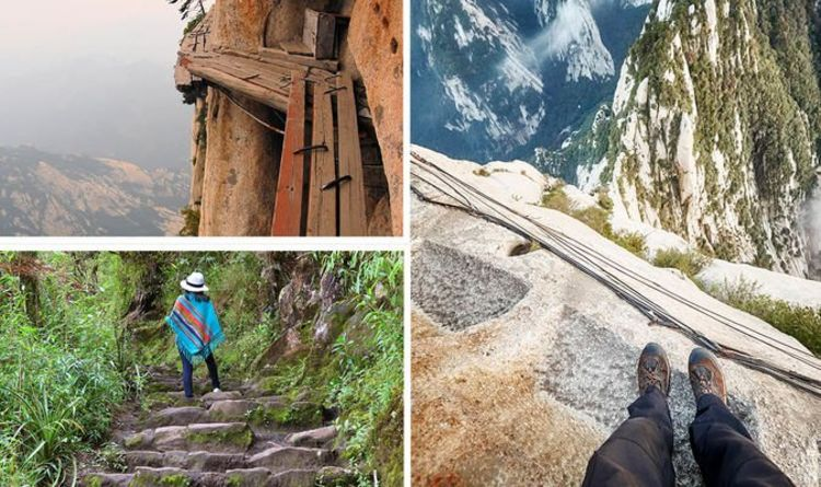 The five most dangerous hikes in the world All over the world