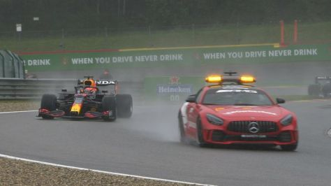 Watch how the Belgian GP ultimately ended after the cars returned to the track behind the Safety Car