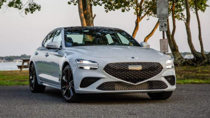 TEST DRIVE 2022 Genesis G70 -- Can it Down 3? Are you looking for series?