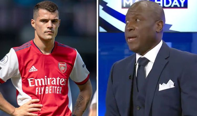 Arsenal legend Kevin Campbell is adamant about his evaluation of 'liability' Granit Xhaka