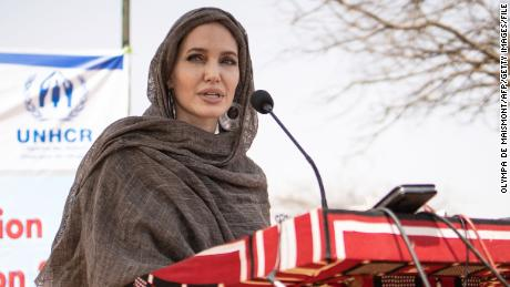 Angelina Jolie joins Instagram to call attention to suffering in Afghanistan