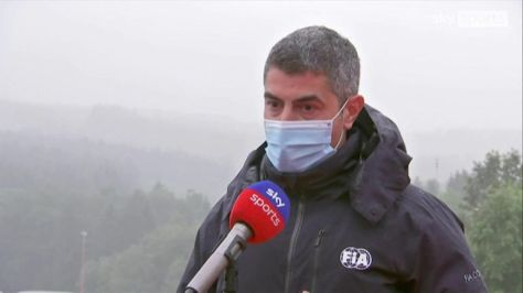 Despite the terrible conditions in Belgium, Formula One race director Michael Masi claims they tried everything possible to avoid a washout