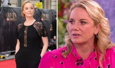 EastEnders actress Tamzin Outhwaite weeps after accepting less Money from Mum's Will