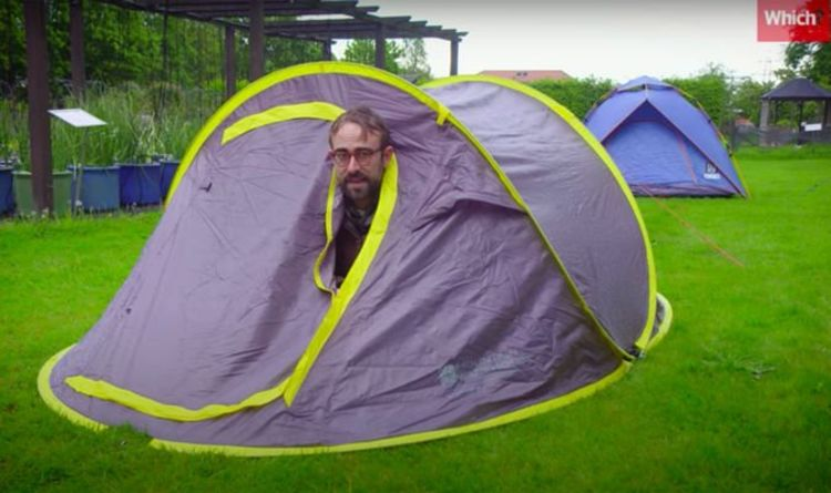 """Pop-up tents """"expand the definition pop-up to include the Limit' -- Which are the most rapid?"""