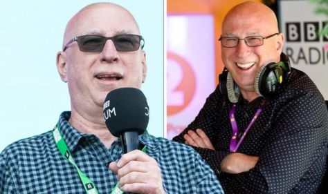 """As he leaves BBC colleague Ken Bruce, he also shares Last day of an emotional affair - """"It's just too much"""""""