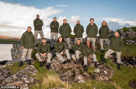 Coming soon: She will soon be seen on Celebrity SAS on Channel 4
