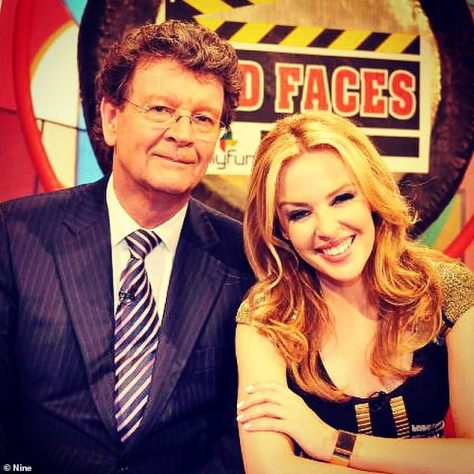 Familiar faces: Somers presented the hit variety show from 1971 to 1999, and again in 2009 to 2010, alongside Lavinia Nixon, Jo Beth Taylor, Molly Meldrum, Red Symons (pictured with guest Kylie Minogue), Wilbur Wilde and Russell Gilbert