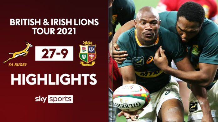Highlights of the second Test between South Africa and the Lions from Cape Town