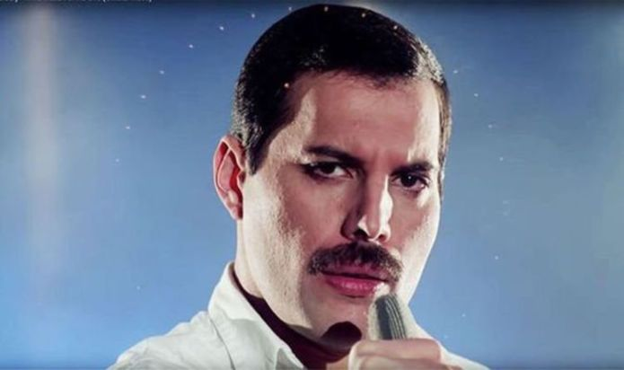 Amazing photos of Queen Star Freddie Mercury at her 75th Birthday Party