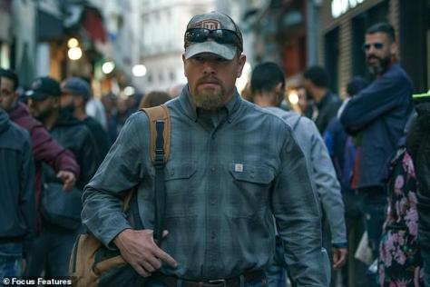 Rugged: Stillwater stars Matt Damon as an out-of-work oil rig worker from Oklahoma who relocates to France, where his daughter (Abigail Breslin) is in prison in Stillwater