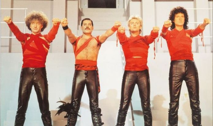 """Roger Taylor denies Queen's """"absurd"""" accusation that Radio Ga Ga Ga had Nazi imagery in it"""