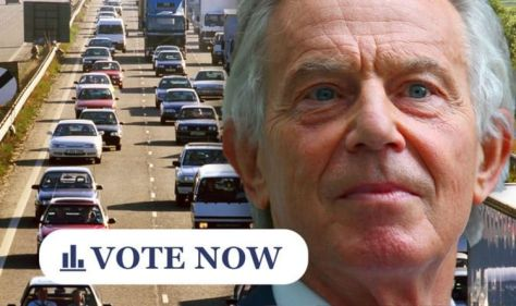 POLL: Do you agree with Blair's road tax that is paid per mile? Proposal?
