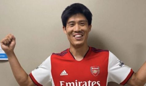 Takehiro Tomiyasu, Arsenal's new signing, is available for Norwich's debut as 'work permit approved'