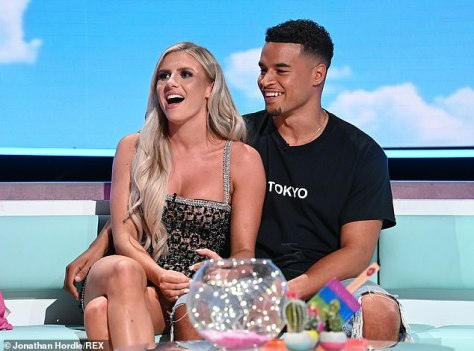 Struggle:The Bicester beauty, 25, who finished in second place with Toby Aromolaran , 22, revealed she struggles to stay in contact with people