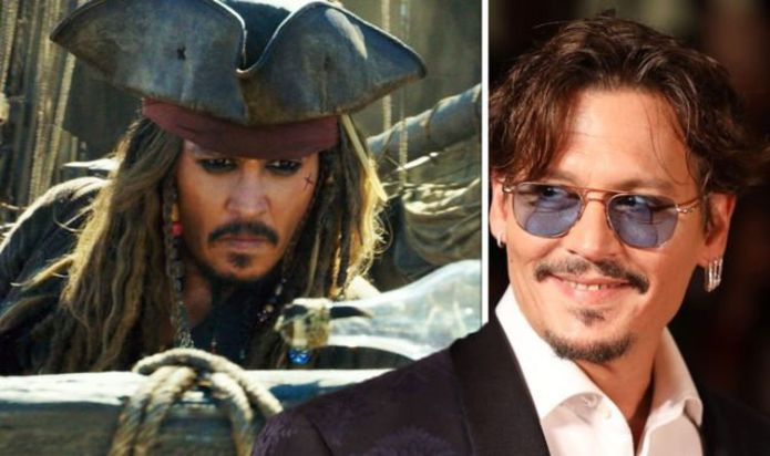 Johnny Depp is the Pirates of the Caribbean Jack Sparrow in the film festival. WATCH