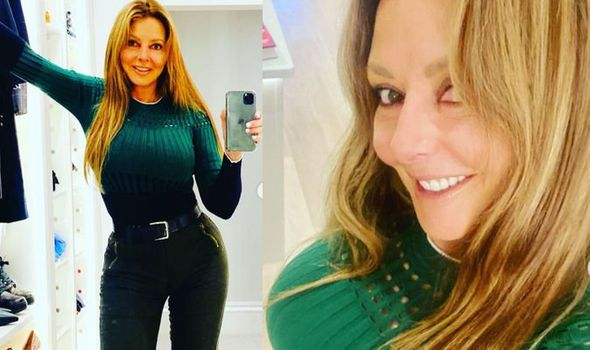 Carol Vorderman: Countdown legend, 60, showcases TINY waist in super tight trousers