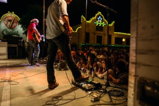 William Clark Green at The Blue Light. Photography by Susan Marinello/New Slang.