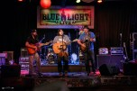 Buck Fuffalo, Kody West, and Jon Young at The Blue Light. Photograph by Susan Marinello/New Slang