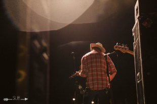 Turnpike Troubadours at The Blue Light. Photograph by Susan Marinello/New Slang.