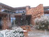 The Sedona Public Library offers 3D snowflake program and annual quilt show.
