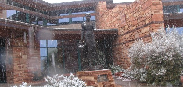 Sedona Public Library this Winter The Sedona Public Library offers 3D snowflake program and annual quilt show.