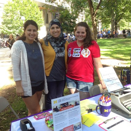 Meghan, Yasmeen, & McKenzie at Festifall
