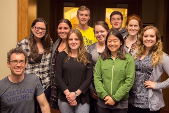 Paul Barron's 2015 Winter Minor in Writing Capstone class