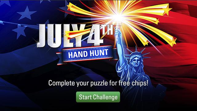 July 4 Hand Hunt