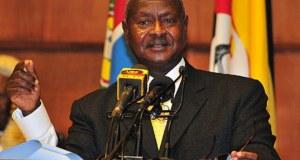 museveni at nation address on ADF