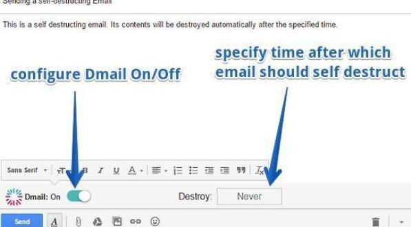 dmail - configuration