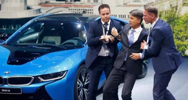 BMW CEO Krueger