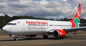 man in Kenya Airways