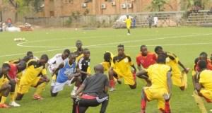 The Hippos team Uganda's U-20