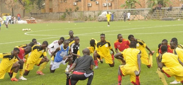 The Hippos team Uganda's U-20