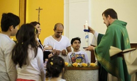 muslim refugees converting