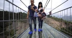China's glass bidge