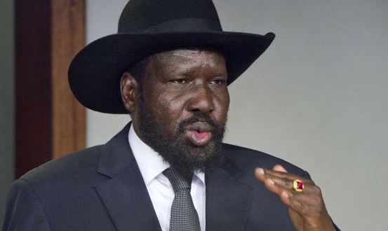 Salva Kiir says am not mad