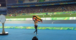 Emong wins the first uganda's paralymics medal