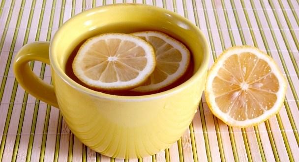 hot water lemon