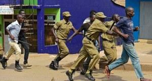 police in kampala
