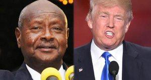 museveni and Trump remark