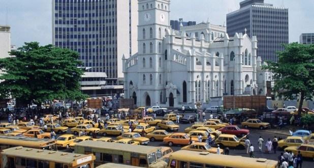 populous Lagos Nigeria