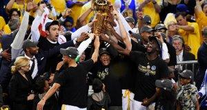 Golden state warriors win the NBA final 2017