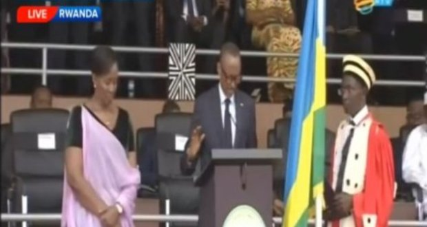 Kagame swears In