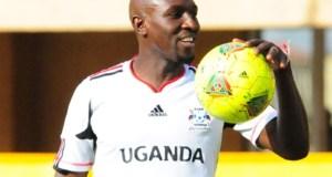 Sekagya called on Uganda cranes team