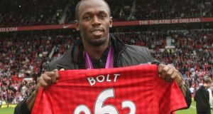 Usain Bolt to play For Man Utd