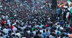 Bobi wine campaigning for Emmanuel Musoke